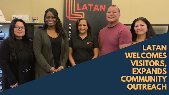 LATAN Welcomes Visitors, Expands Community Outreach